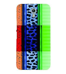 PrintVisa Corporate Print & Pattern Modern Art 3D Hard Polycarbonate Designer Back Case Cover for LENOVO ZUK Z2 PRO