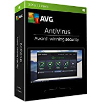 AVG AntiVirus 2017 for 3 PCs (2 Years)