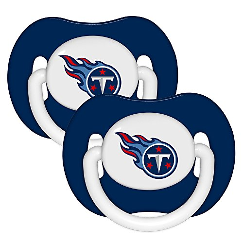 NFL 2 Pack Baby Pacifiers NFL Team: Tennessee Titans - 1