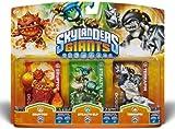Skylanders Giants - Triple Character Pack - Eruptor, Stealth Elf, Terrafin (Nintendo Wii/3DS/Wii U/PS3/Xbox 360)