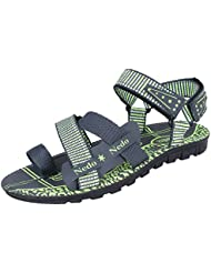 Bersache Men's Grey-906 Sandal & Floaters