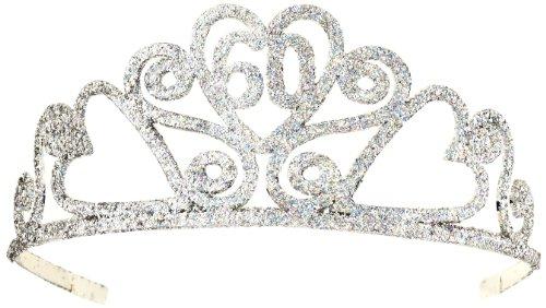 Forum Novelties 60th Birthday Glitter Tiara