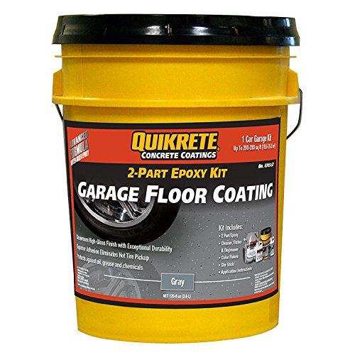 Quikrete Garage Floor 2-Part Epoxy Gray kit (Epoxy Garage Kit compare prices)