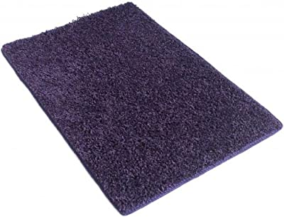 Indoor Area Rug - Purple Vogue 37oz - plush textured carpet for residential or commercial use with Premium BOUND Polyester Edges.