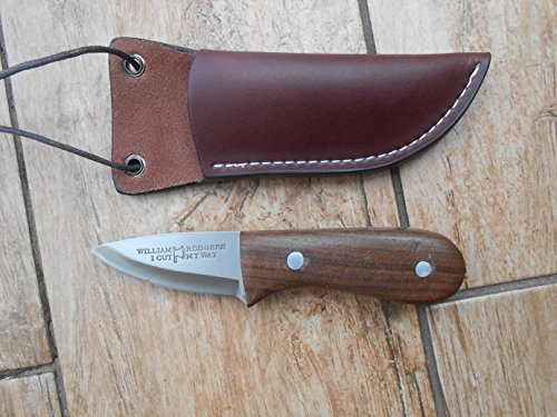 Craftsman Made Neck Knife - Hang It Round Your Neck so You Are Never Without This Remarkable Little Knife - Walnut and 01 Carbon Tool Steel (Custom Made Neck Knife compare prices)