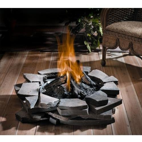 Napoleon Gpf Patioflame Outdoor Propane Gas Fire Pit - Stainless Steel