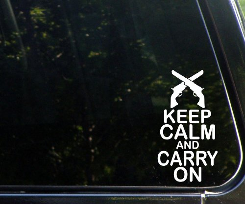 KCCO Keep Calm Carry On Funny Die Cut Decal For Windows, Cars, Trucks, Laptops, Etc.