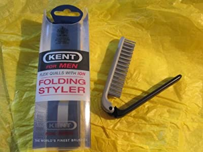 Kent Mens Folding Styler Hair Brush by Kent