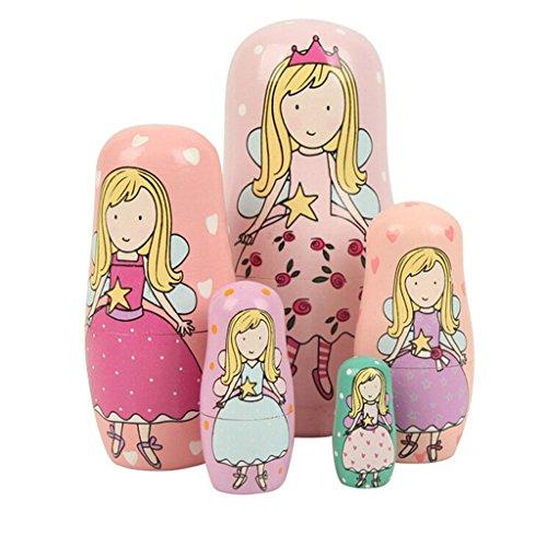 Winterworm-Cute-Lovely-Pink-Angel-Princess-Handmade-Nesting-Dolls-Matryoshka-Dolls-Russian-Dolls-Set-5-Pieces-Kids-Girls-Gifts-Toy-home-decoration