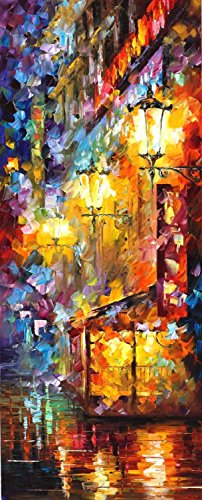 Decorative Room (Unframe And Unstretch) 100% Hand-Painted Palette Knife Oil Painting On Canvas,Vintage Soul 3,16 X 40 Inch
