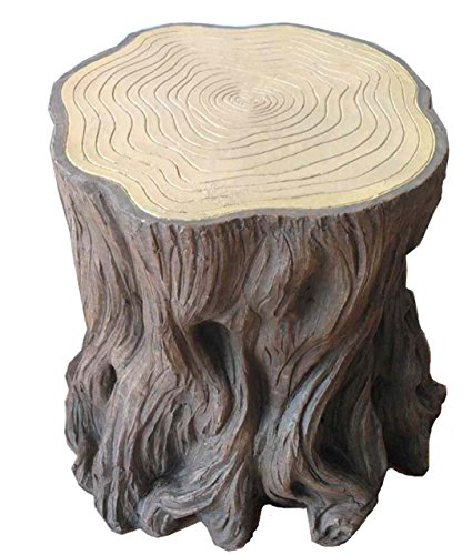 Woodland-Tree-Stump-Stools-Set-Of-2