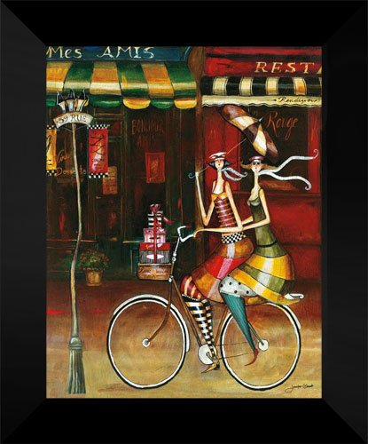 Jennifer Garant FRAMED Art Print 15x18 Mes Amis II jennifer worth parandusmaja varjud