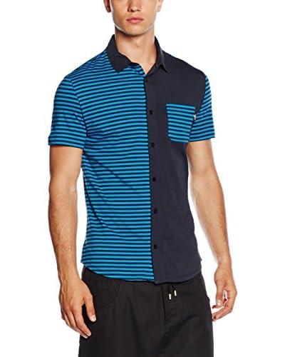 Love Moschino Hemd  blau 2XL