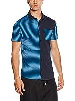 Love Moschino Camisa Hombre (Azul)