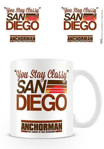 Mensuk Anchorman - Ceramic Coffee Mug (You Stay Classy San Diego)