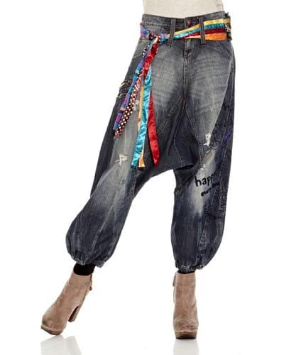 Desigual Jeans Baggy [Blu]