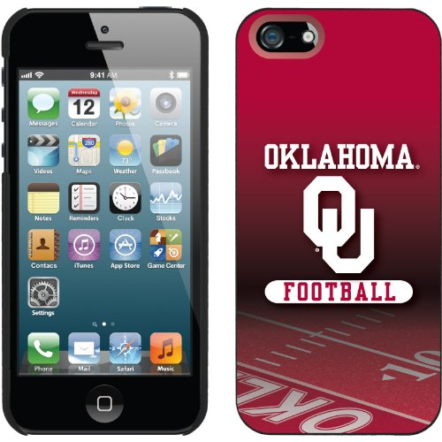 Great Sale Oklahoma - Football Field design on a Black iPhone 5 Thinshield Snap-On Case by Coveroo
