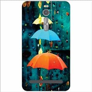 Asus ZenFone 2 ZE551ML Back Cover - Droplets Designer Cases