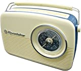 Roadstar Vintage Portable LW/MW/FM Radio - Cream