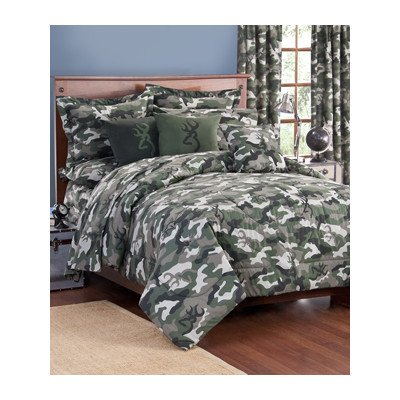 Full Size Camo Bedding 2406 front