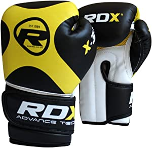 Buy Authentic RDX 6oz Kids Boxing Gloves,Punch Bag Mitts Junior Children MMA Kick X3 by RDX