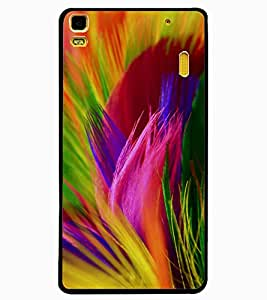 ColourCraft Colourful Image Design Back Case Cover for LENOVO A7000 PLUS