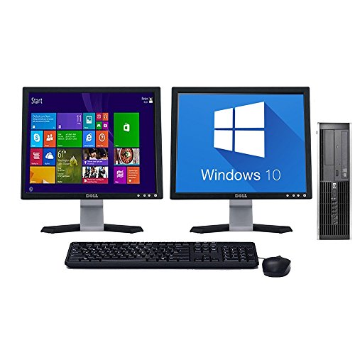 hp-8000-elite-windows-81-desktop-computer-pc-c2d-4gb-160gb-dual-monitor-17-lcd