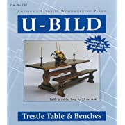 Trestle Table and Benches Plans