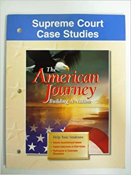 Download e-book for kindle: Supreme Court Case Studies by Editors of McGraw-Hill