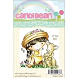 Little Darlings CandiBean Cling Mounted Rubber Stamp, 3.1-Inch by 3.035-Inch, G'day Izzy
