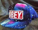 Obey Galaxy Caps Adjustable Hip Pop Baseball Snapback Hats