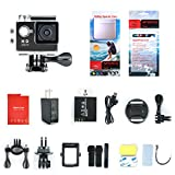 Yuntab Mini 30-Meter Waterproof Sport DV HD 1080P A9 Extreme Action Camera 5MP 15FPS, Helmet Camera Cam DV Action Camcorder with Charger