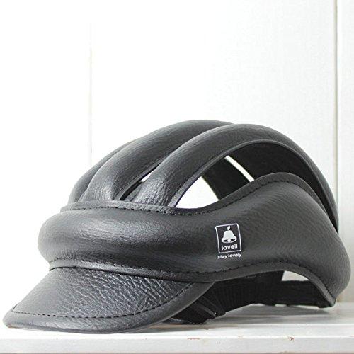 Arcoba [lovell ラベル]おしゃれなヘルメットカスクCASQUE カジュアルな帽子型自転車用ヘルメット 簡単サイズ調節 グリーン