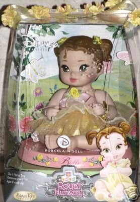 Disney Princess Brass Key Royal Nursery Belle Porcelain Doll - Buy Disney Princess Brass Key Royal Nursery Belle Porcelain Doll - Purchase Disney Princess Brass Key Royal Nursery Belle Porcelain Doll (Brass Key, Toys & Games,Categories,Dolls,Porcelain Dolls)