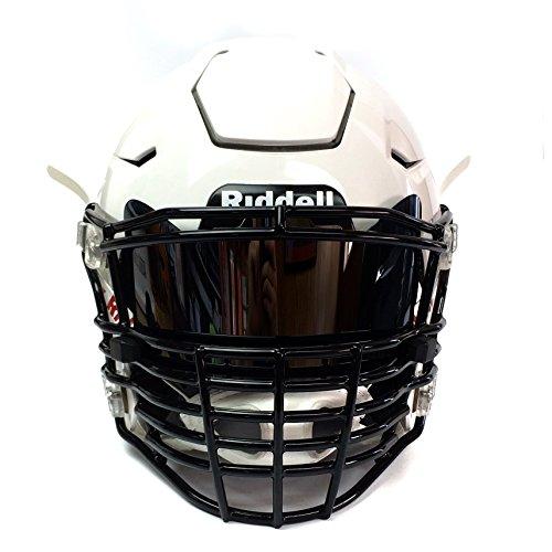 Chrome football visor