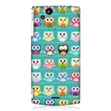 Head Case Designs Kawaii Green Owl Patterned Case for Sony Ericsson Xperia Arc X12