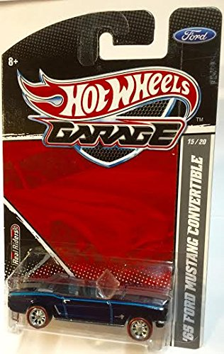 Hot Wheels Garage Series 65 Ford Mustang Convertible 15/20