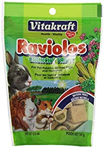 Vitakraft Small Animal Raviolos 5-Ounce Pouch
