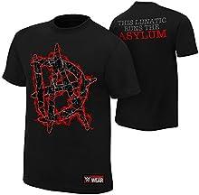 WWE - Dean Ambrose - This Lunatic Runs The Asylum AUTHENTIC T-SHIRT