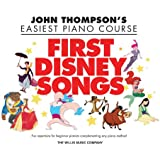 Thompson John Easiest Piano Course First Disney Songs Easy Pf Bk (John Thompson's Easiest Piano Course)