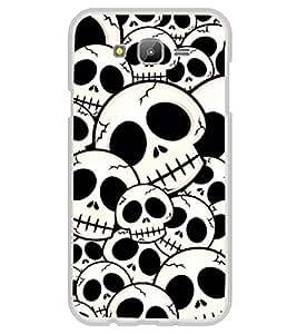 iFasho Modern Design skeleton Pattern Back Case Cover for Samsung J5