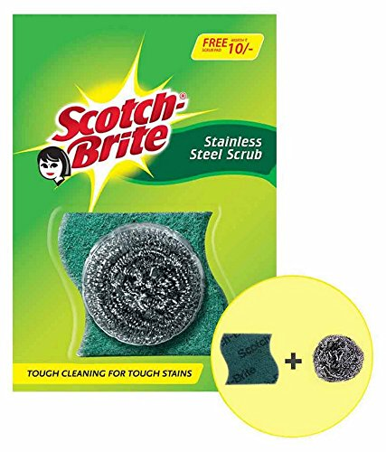 25% Off Scotch-Brite Steel Ball (Pack of 6) and Scrub Pad (Pack of 6) – Amazon