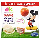 Annabel Karmel Disney Fruit Crisps 12mth+ Apple Multipack (4x8g)