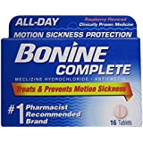 Bonine Motion Sickness Tablets-Raspberry-16 ct. (Pack of 2)