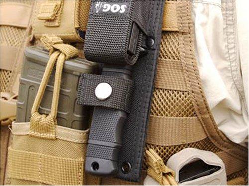 Sog Specialty Knives M37-N SEAL Pup Elite Knife, Stainless Steel/Zytek, 4-3/4-In. Blade