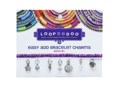 Loopdedoo Easy Add Bracelet Charms - Peace and Happiness - 1