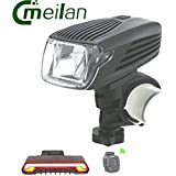 Generic Bike Light Meilan X1 Led Flashlight Front Light Smart Bicycle Light Rear Laser Light Meilan X5