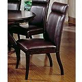 Hillsdale Nottingham Side Chair, Set of 2, Dark Espresso