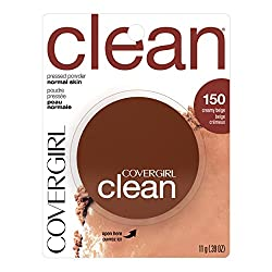 CoverGirl Clean Pressed Powder Creamy Beige 150 0.39 Ounce Pan