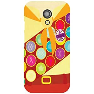 Moto G 2nd Gen Bubbled Matte Finish Phone Cover - Matte Finish Phone Cover